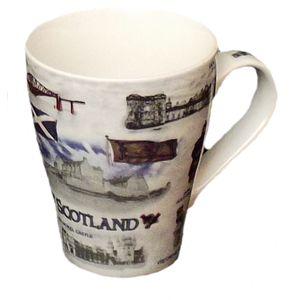Scottish Heritage Coffee Mug set of 4