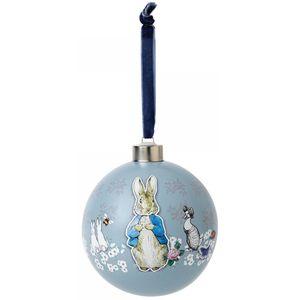 Beatrix Potter Peter Rabbit Christmas Bauble - Peter & Friends