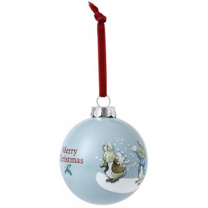 Beatrix Potter Peter Rabbit Christmas Bauble - Peter Rabbit & Benjamin Bunny