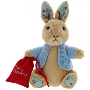 Gund Beatrix Potter Peter Rabbit Christmas Soft Toy (Small)