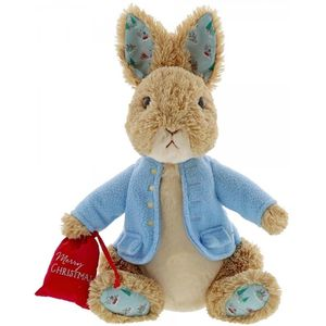 Beatrix Potter Peter Rabbit Christmas Soft Toy (Large)