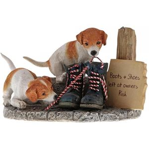 Border Fine Arts Studio Collection Kitchy & Co Old Boots Figurine
