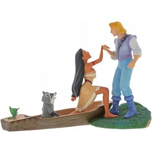 Disney Enchanting Scene Figurine - Hear With Your Heart (Pocahontas)