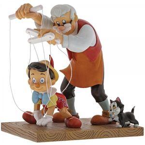 Disney Enchanting Scene Figurine - Little Wooden Head (Pinocchio)