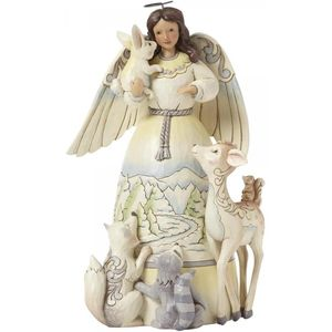 Heartwood Creek Peace to All Angel Figurine