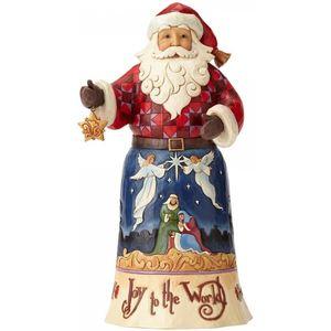 Heartwood Creek Joy To The World Santa