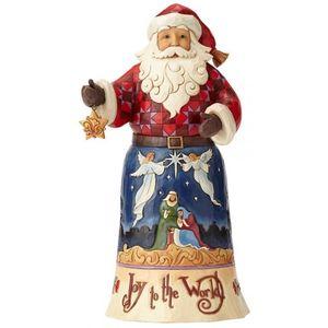 Heartwood Creek Santa Figurine Joy To The World