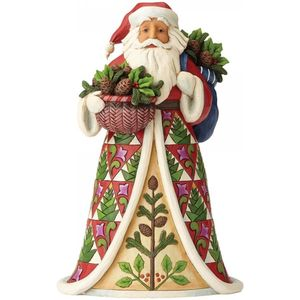Heartwood Creek Pining for Christmas, Santa Figurine