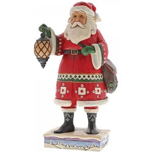 Heartwood Creek Delivering December Santa Figurine