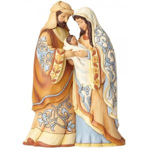 Heartwood Creek Nativity Figurine - Blessed be This Holy Three
