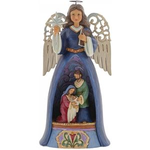Heartwood Creek Angel Figurine - A Saviour for All (Lighted)