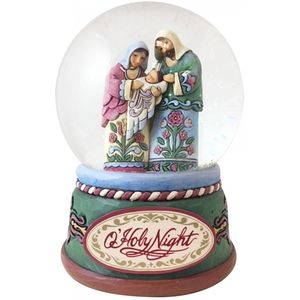 Heartwood Creek Oh Holy Night Nativity Waterball