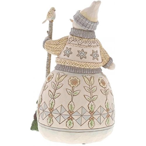 Heartwood Creek Snowman Figurine Greetings from the Woods 6001408