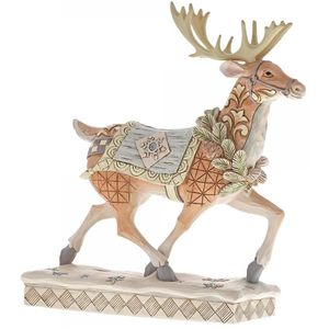 Heartwood Creek White Woodland Figurine Reindeer