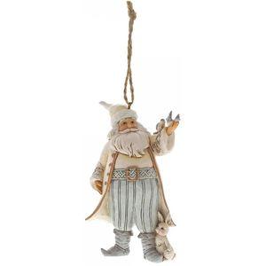 Heartwood Creek Hanging Ornament - White Woodland Santa