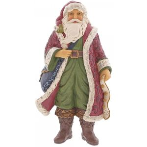 Heartwood Creek Christmas is Near Santa Figurine