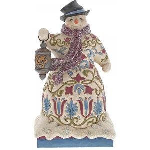 Heartwood Creek Snowman Figurine Be The Light