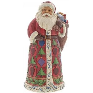 Heartwood Creek Santa Figurine Surprises Await