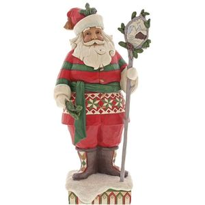Heartwood Creek Wonder in the Wilderness Santa Figurine