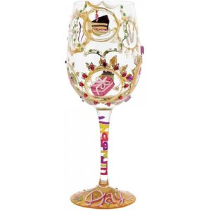 Lolita Queen for a Day Wine Glass