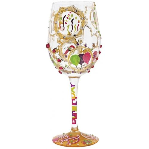 Queen for a Day Wine Glass
