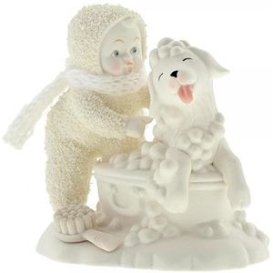 Snowbabies Figurine - Bath Time
