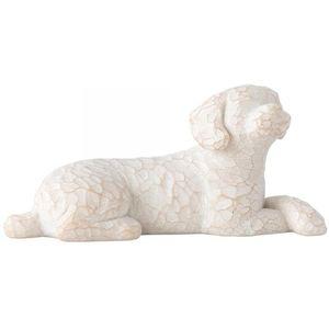 Willow Tree Love My Dog (Small Lying) Figurine