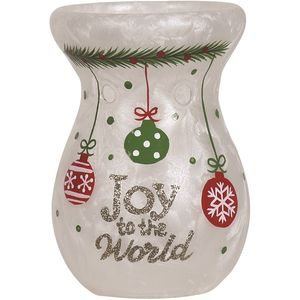 Aroma Wax Melt Burner - Festive Joy to the World