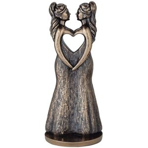 Genesis Bronze Figurine: Love is Love (Females)