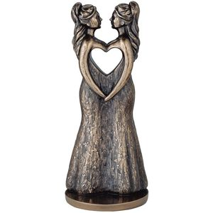 Genesis Cold Cast Bronze Figurine - Love is Love (Females)