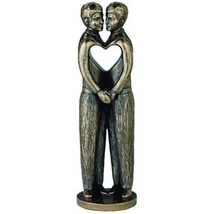 Genesis Bronze Figurine: Love is Love (Males)