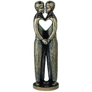 Genesis Cold Cast Bronze Figurine - Love is Love (Males)