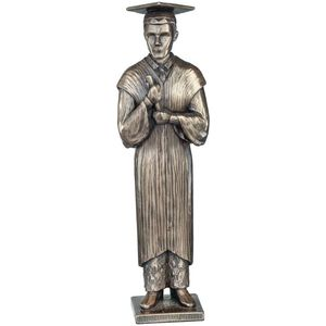 Genesis Cold Cast Bronze Figurine: Love Life Collection - Your Graduation (Male)