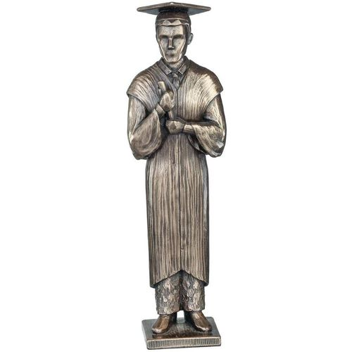 Genesis Cold Cast Bronze Figurine RR005 : Love Life Collection - Your Graduation (Male)