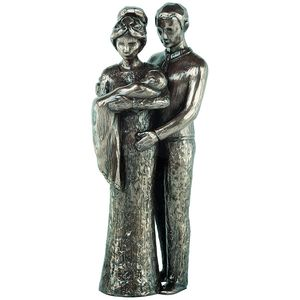 Genesis Cold Cast Bronze Figurine - Love Life Collection Your Christening