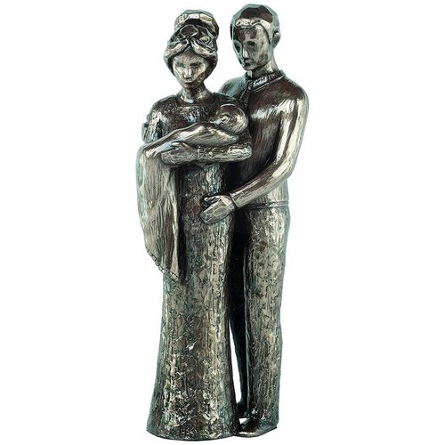 Genesis Cold Cast Bronze Figurine MM016: Love Life Collection - Your Christening