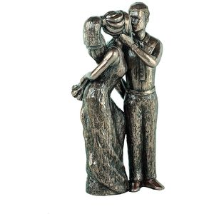 Genesis Cold Cast Bronze Figurine - Love Life Collection Share Your Love