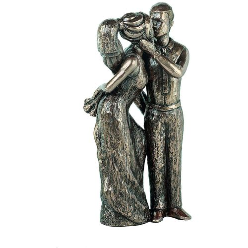 Genesis Cold Cast Bronze Figurine MM017: Love Life Collection - Share Your Love