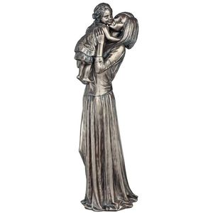 Genesis Bronze Figurine: Mother & Child