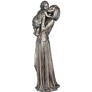 Genesis Cold Cast Bronze Figurine - Mother & Child