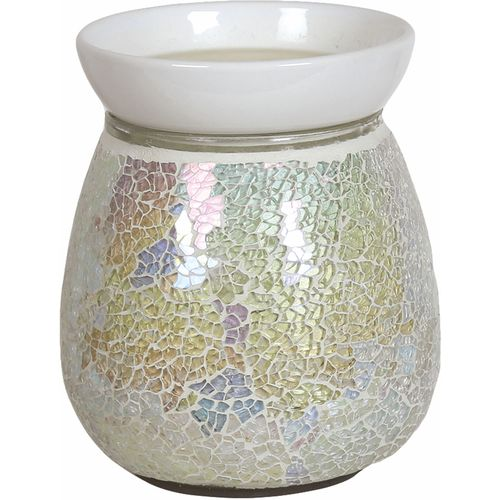 Aromatize Electric Wax Melt Burner: Pearl Crackle AR1214