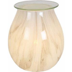 Aroma Electric Wax Melt Burner - Art Glass: Natural