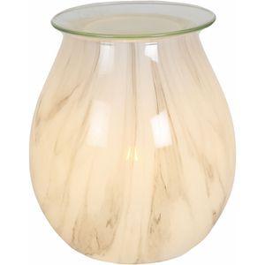 Aromatize Electric Wax Melt Burner - Art Glass Natural