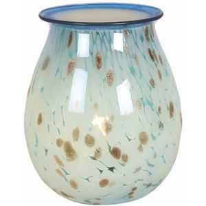Aroma Electric Wax Melt Burner: Art Glass (Aqua)