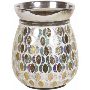 Aromatize Electric Wax Melt Burner Gold & Silver Moon