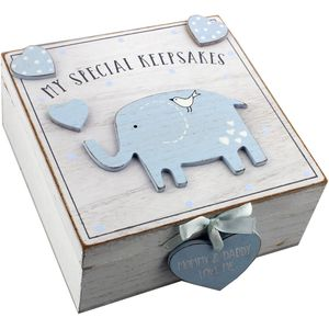 Petit Cheri My Special Keepsake Box (baby blue)