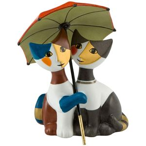 Rosina Wachtmeister Cats Figurine: Sotto lo Scudo