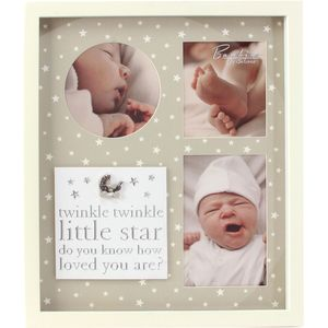 Bambino Little Stars Collage Photo Frame - Twinkle Twinkle Little Star