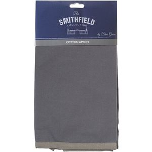 Grey Cotton Apron