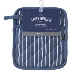 Butchers Stripe Pot Mitt